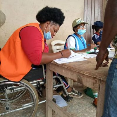 PWD observer recruited by INEC
