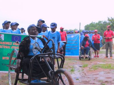 mentstration of girls with disability matters.